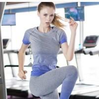 Jual Kaos Sport Wanita Jogging Gym Senam Baju Olah Raga 3929 Murah