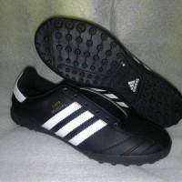 sepatu futsal adidas copa mundial hitam putih gerigi