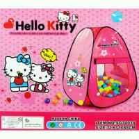 Tenda Segitiga Hello Kitty Pop Up Mainan Tenda Anak