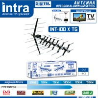 harga Antena Tv Outdoor Digital Alumunium Series Tipe X Intra Int-100x Tg Tokopedia.com