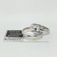 cincin kawin couple palladium R3768