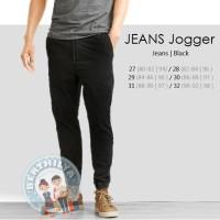 Jual Celana JOGGER Jeans | Pria | Celana Panjang Jogger | Black Murah
