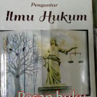 Jual Buku Pengantar Ilmu Hukum Muhamad Erwin SH, MHum Murah