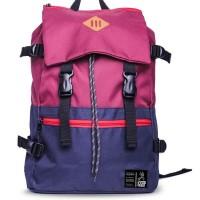 Tas Ransel / Backpack Pria / Wanita Terbaru G-shop 202 Marun