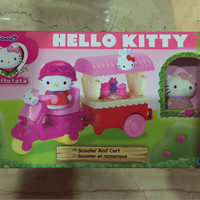 hello kitty scooter and cart