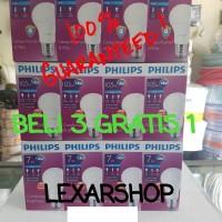 Jual Paket Lampu LED Bulb PHILIPS Beli 3 gratis 1| 10,5watt | Paketan 10w Murah
