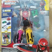 Power Rangers Super Megaforce Legendary Dx Megazord