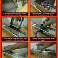 Jual Alat Pengiris Bawang/Pemotong Kentang Manual Stainles Stell(Serbaguna) Murah