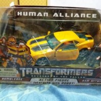 Transformers Bumblebee human alliance+sam witwicky(ROTF)