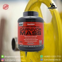Carnivor Mass 6 lbs whey gainer protein