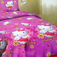 Mugunghwa Set Sprei Hello Kitty Heart