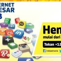 INJECT KUOTA/INTERNET/PAKET DATA INDOSAT HARGA PROMO TERBATAS !!
