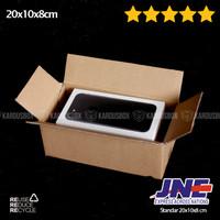 Kardus   Box   Karton   Packaging STANDAR [20x10x8cm] via JNE