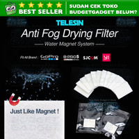 Anti Fog Drying Filter Insert for Xiaomi Yi & GoPro (12Pcs)