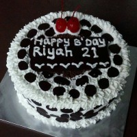 kue ulang tahun / black forest / kue ultah mini