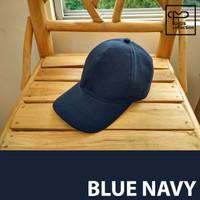Jual Topi Baseball Polos Blue Navy Murah