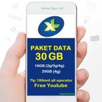 KUOTA XL COMBO XTRA 2XL 30GB