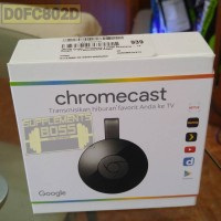 Jual Official Google Chromecast 2 HDMI StreamingTV Dongle garansi indonesia Murah
