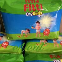Jual Fitti XL22/XL 22/Fitti Pants Jumbo Pack XL Murah/Popok Fitti Day Pants Murah