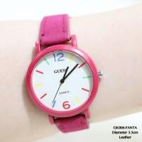 supplier jam tangan wanita guess tali kulit fossl/franckmuller grosir