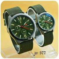 Jam Tangan Couple Swiss Army Jtr 377 Hijau