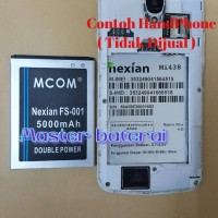Baterai Nexian Zephyr Mi438 / Mi 438 / FS001 / FS 001 Double Power IC