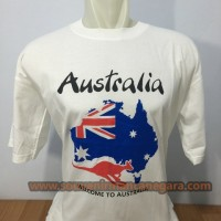 Kaos Australia Peta