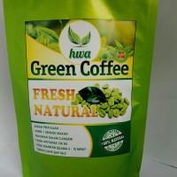 Kopi Hijau/Green Coffee Biji Utuh Siap Seduh Pelangsing Herbal Alami