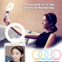 Jual Selfie Light / Led selfie / Lampu Selfie Premium / Ring led lamp Murah