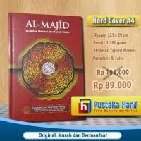 AlQuran Al-Majid Besar (A4) , Al-Quran Tajwid Warna