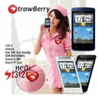 SMARTPHONE STRAWBERRY ST312 HEAL DUAL GSM ANDROID JELLYBEAN