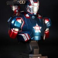 Hot Toys Bust Collection HTB12 Iron Patriot Iron Man III MIB NEW