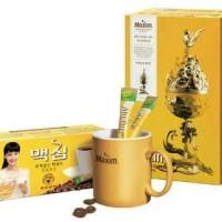 Jual Maxim Mocha Gold Mild Coffee Mix- Kopi Best Seller Korea -Stick Sachet Murah