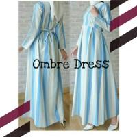 Jual Gamis /Dress Katun Good Quality Ombre Dress Murah