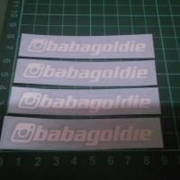 Custom Cutting Sticker ID Instagram