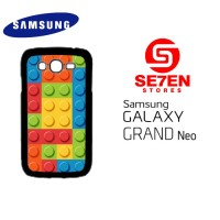Casing HP Samsung Grand Neo lego patern Custom Hardcase Cover