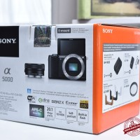 [NEW] Sony A5000 kit 16-50mm OSS @Gudang Kamera Malang