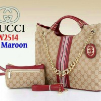 Tas Gucci Kanvas 2514