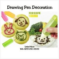 Jual Bento Drawing Pen/Pen Decoration/Bento Tools/Food Decoration Pen Murah