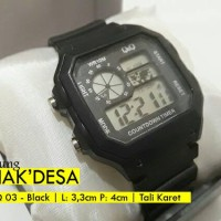 Jual Jam Tangan Q&Q Digital Led Murah