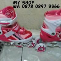 Sepatu Roda model Bajaj Sport warna Pink