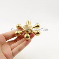 HAND Fidget Spinner Hexagon Metal - Mainan Finger Fidget Spinner Hexag