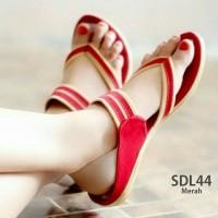 Jual Promo Sandal / Sendal Wanita Cewek Flat Swing One Terbaru Murah