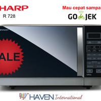 [PROMO MURAH] Microwave Grill Sharp R 728 (25 Liter)