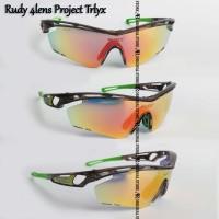 Jual Kacamata Sepeda Rudy Project Trlyx 4 lensa Sunglass MTB Motor airsoft  Murah