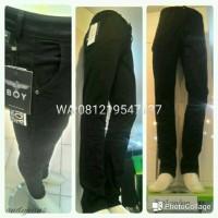 Jual Celana jeans Boy London Black Chinos orginal anti luntur Murah