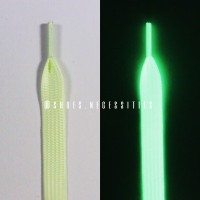 80CM / Glow In The Dark Laces / YELLOW