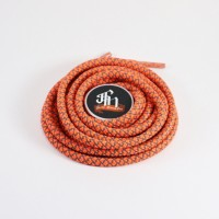 120CM / PULPY ORANGE REFLECTIVE LACES