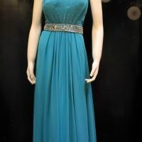 Gaun Wanita Modern Untuk Pesta / Long Dress Sifon Dress Panjang Pesta