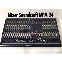 Mixer Soundcraft Mpm 24 ( 24 Channel )